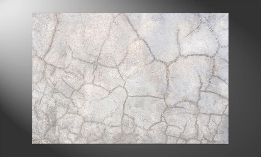 Das Premium Poster Concrete Wall