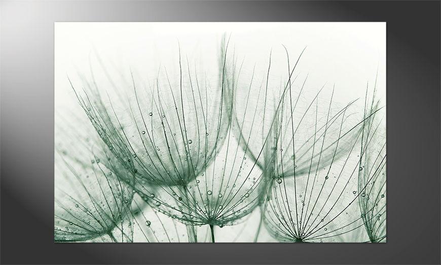 Das Premium Poster Detail Of Dandelion