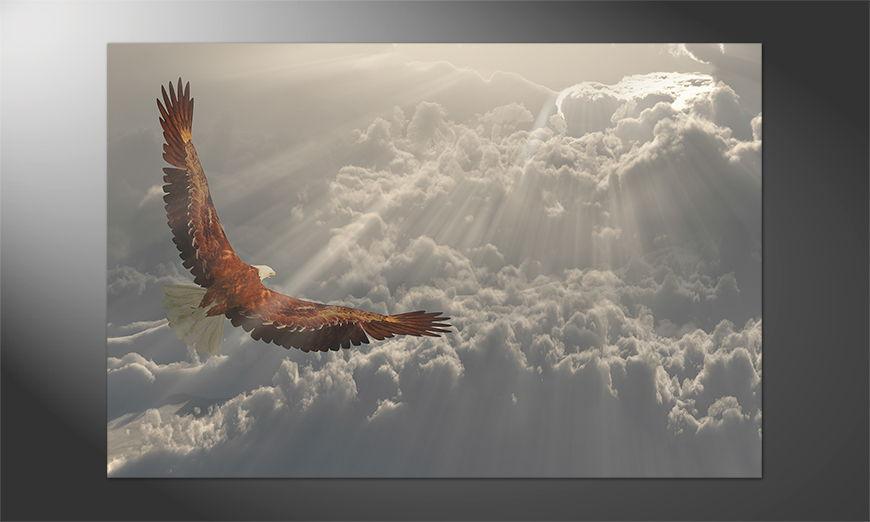 Das Premium Poster Eagle in Flight