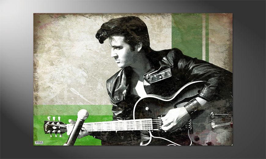 Das Premium Poster Elvis