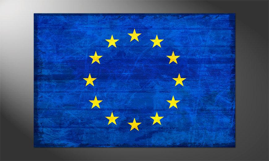 Das Premium Poster Europa