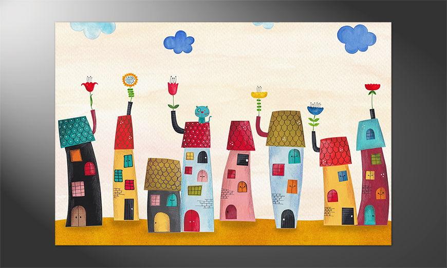Das Premium Poster Fairytale Town
