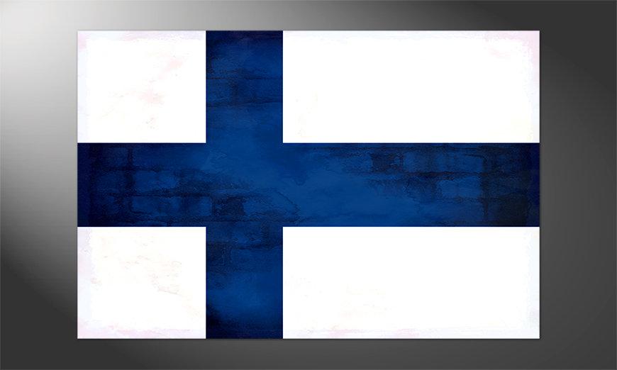 Das Premium Poster Finnland