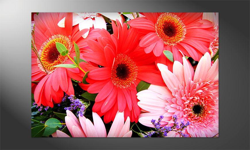 Das Premium Poster Flowery Scent