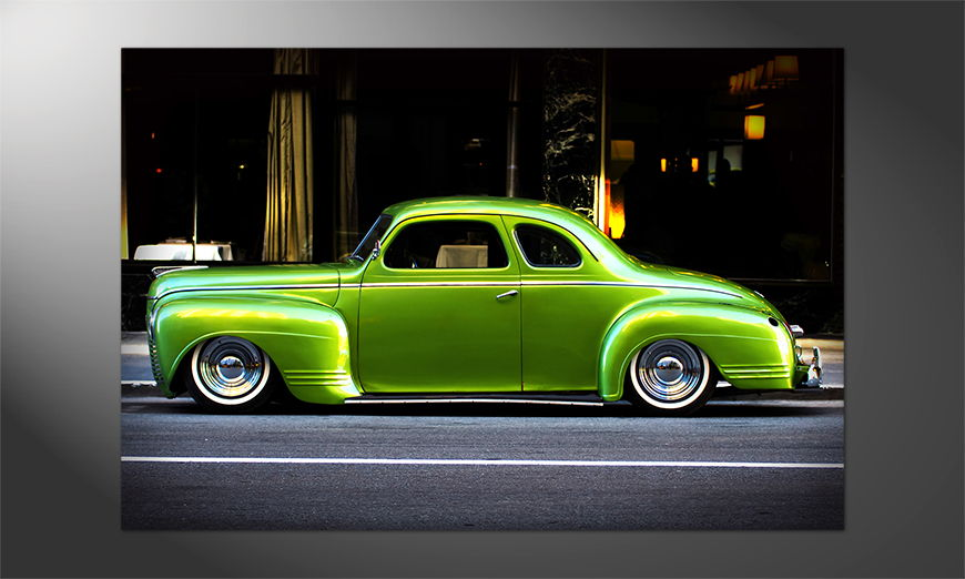 Das-Premium-Poster-Green-Car