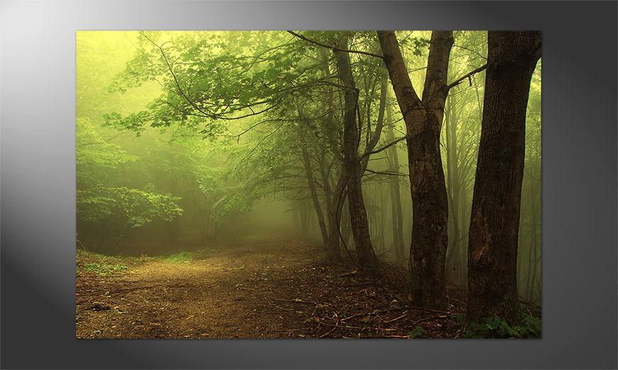 Das Premium Poster Green Forest