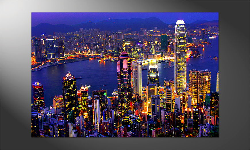 Das Premium Poster Hong Kong View