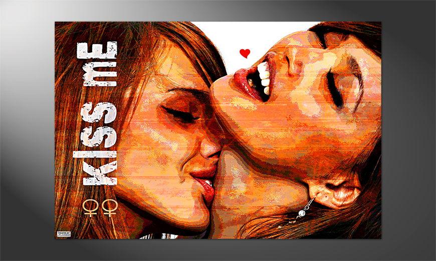 Das Premium Poster Kiss Me