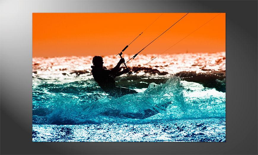 Das Premium Poster Kitesurf