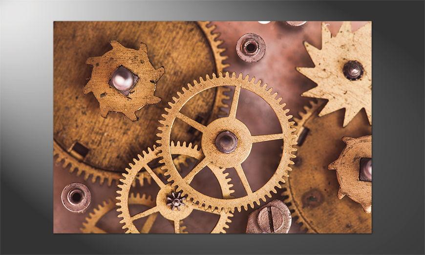Das Premium Poster Mechanical Watch