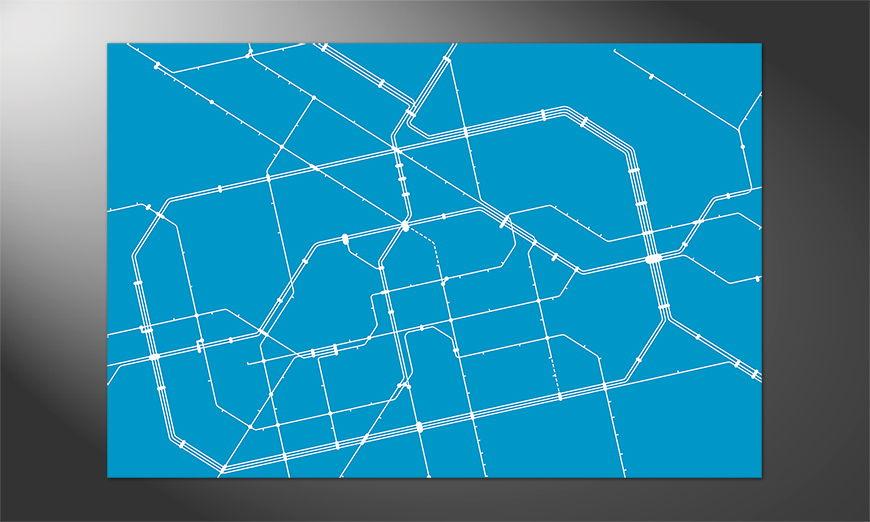 Das Premium Poster Metro Berlin