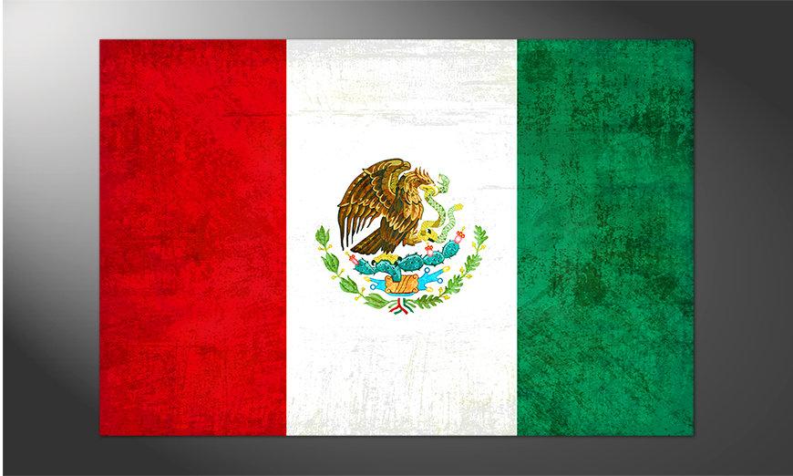 Das Premium Poster Mexiko