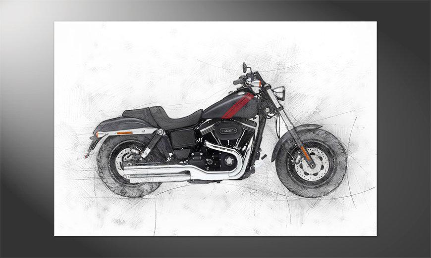 Das Premium Poster Motorbike uno