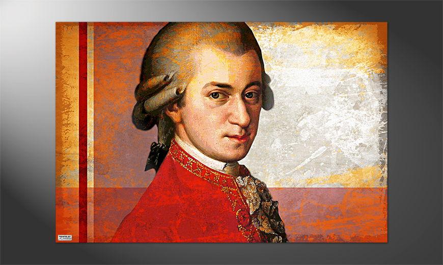 Das Premium Poster Mozart
