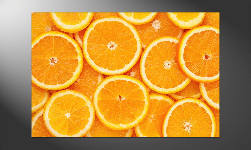 Das Premium Poster Oranges
