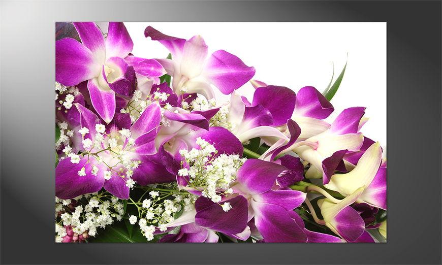 Das Premium Poster Orchid Blossom