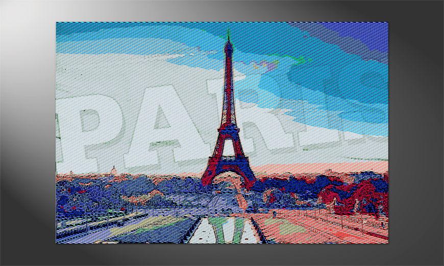 Das Premium Poster Paris