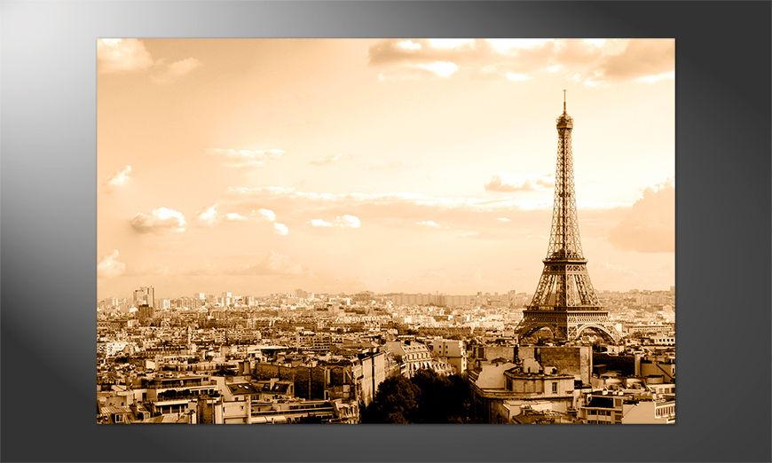 Das Premium Poster Paris II