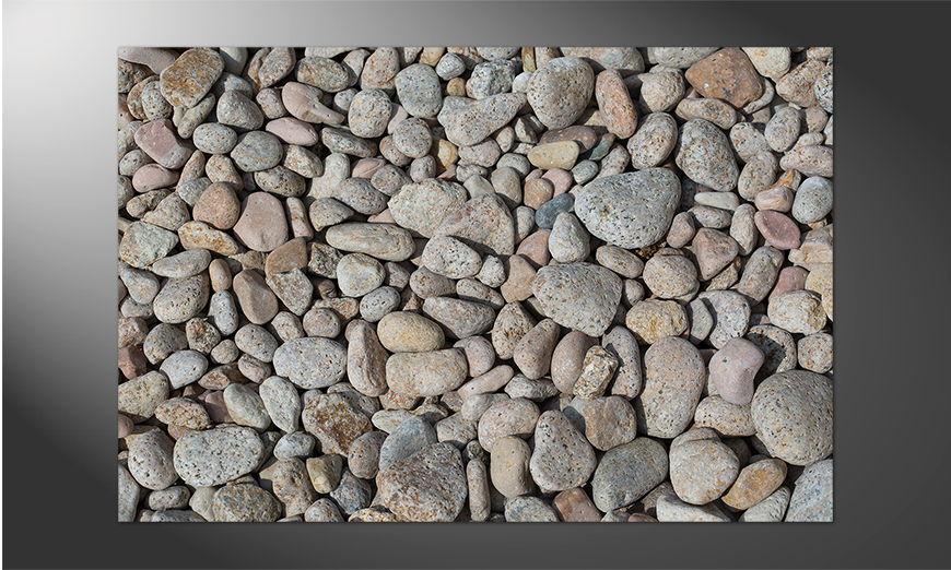Das Premium Poster Pebblestone