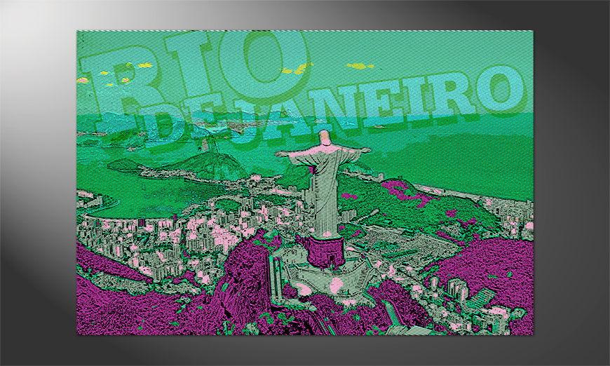 Das Premium Poster Rio de Janeiro