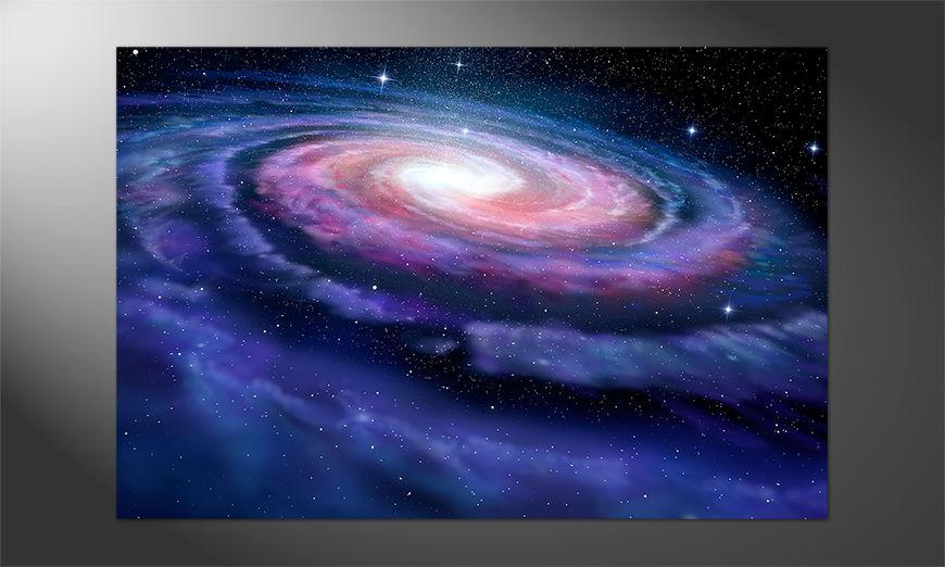 Das Premium Poster Spiral Galaxy