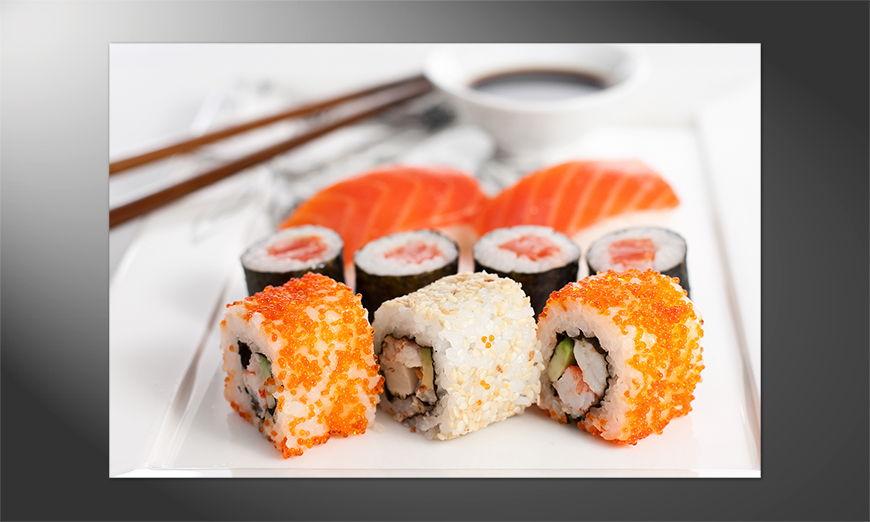 Das Premium Poster Sushi