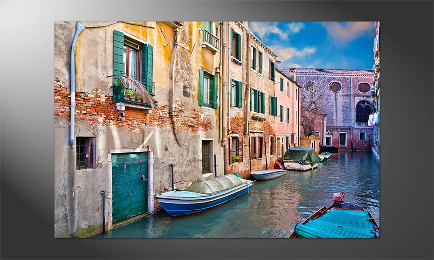 Das Premium Poster Venice View