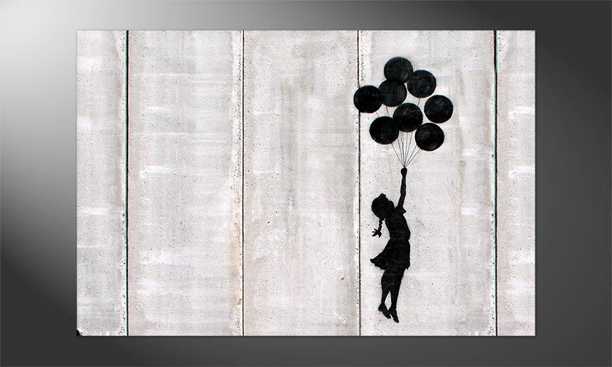 Das Streetart Premium Poster Banksy No3
