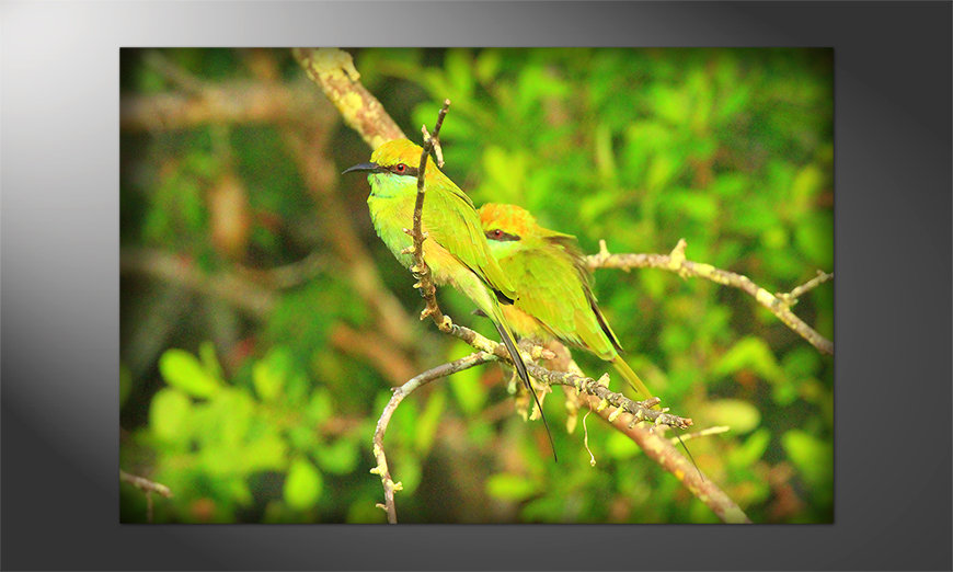 Das beliebte Poster Greenbirds