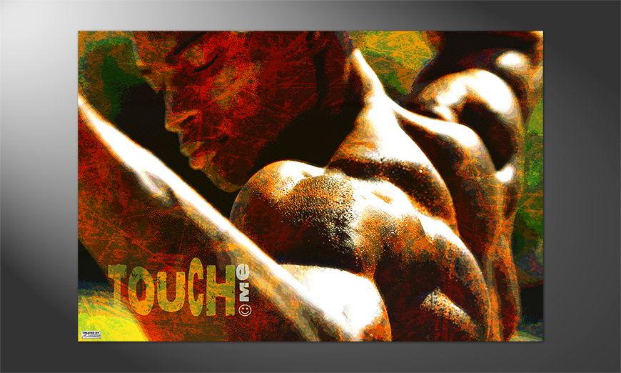Das besondere Premium Poster Touch Me