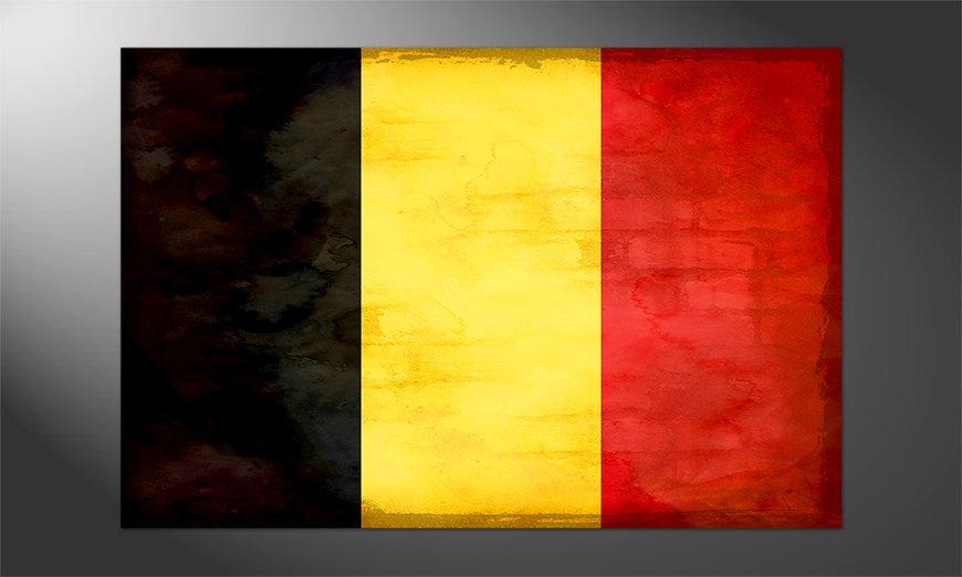 Das brilliante Poster Belgien