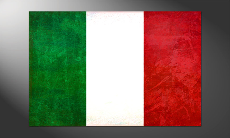Das brilliante Poster Italien