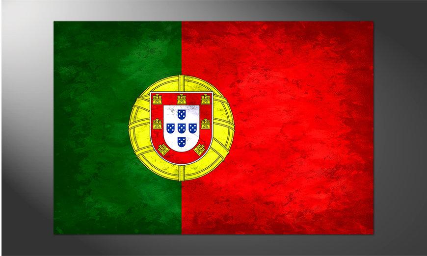 Das brilliante Poster Portugal