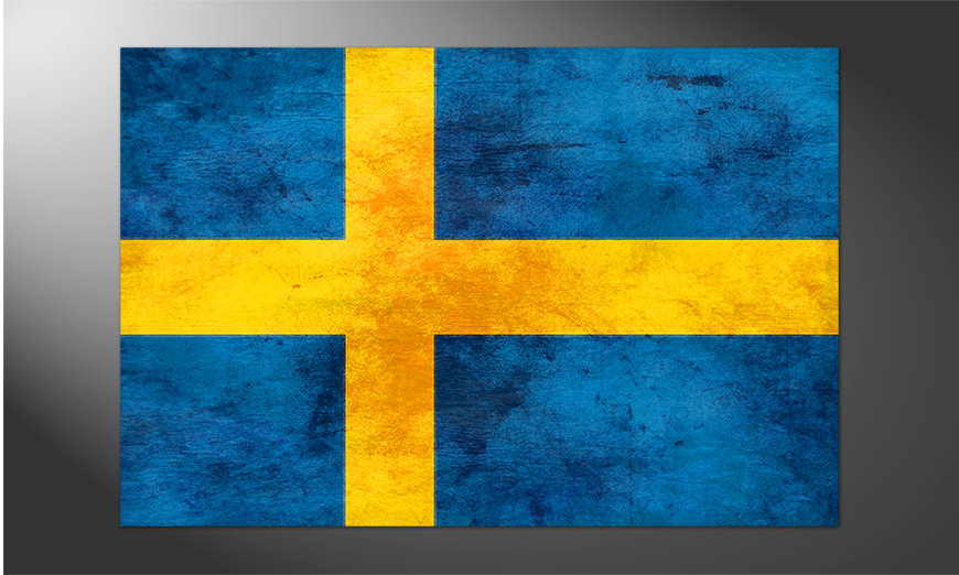 Das brilliante Poster Schweden