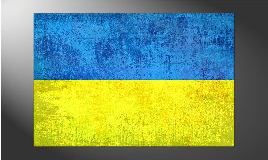 Das brilliante Poster Ukraine