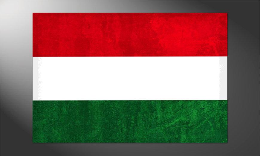 Das brilliante Poster Ungarn