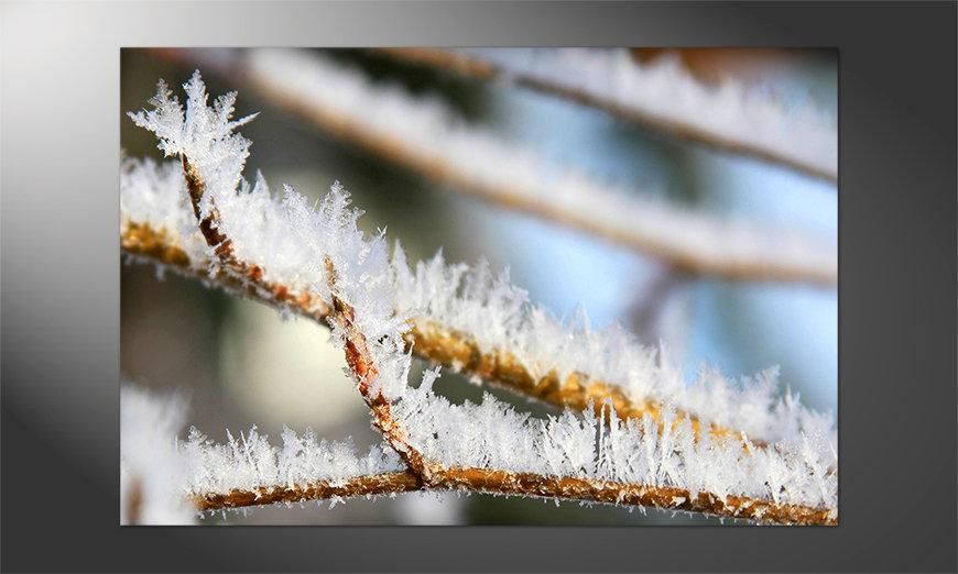 Das brilliante Poster Wintertime