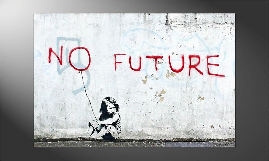 Das einmalige Premium Poster Banksy No10