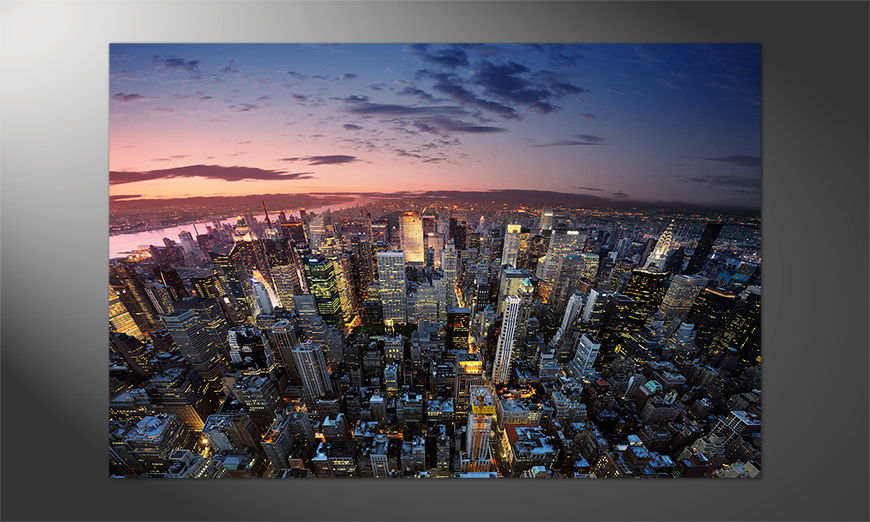 Das einmalige Premium Poster NY Sky