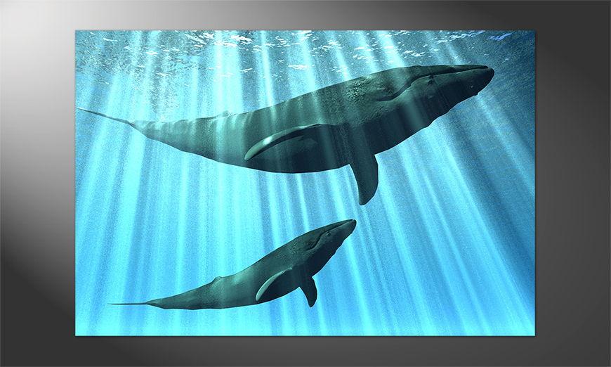 Das einmalige Premium Poster Whales