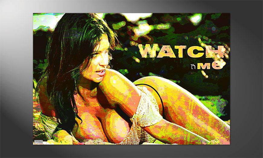 Das erotische Premium Poster Watch Me