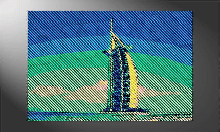 Das exotische Premium Poster Dubai