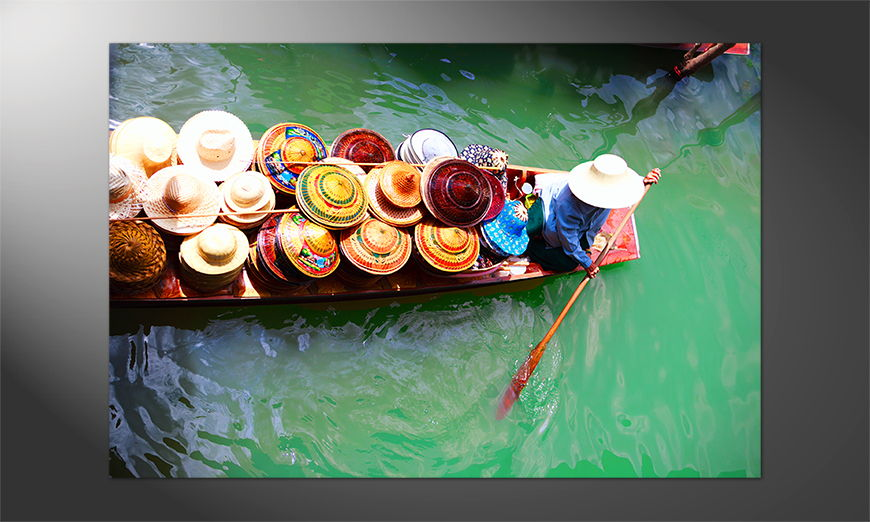 Das exotische Premium Poster Thai Boat