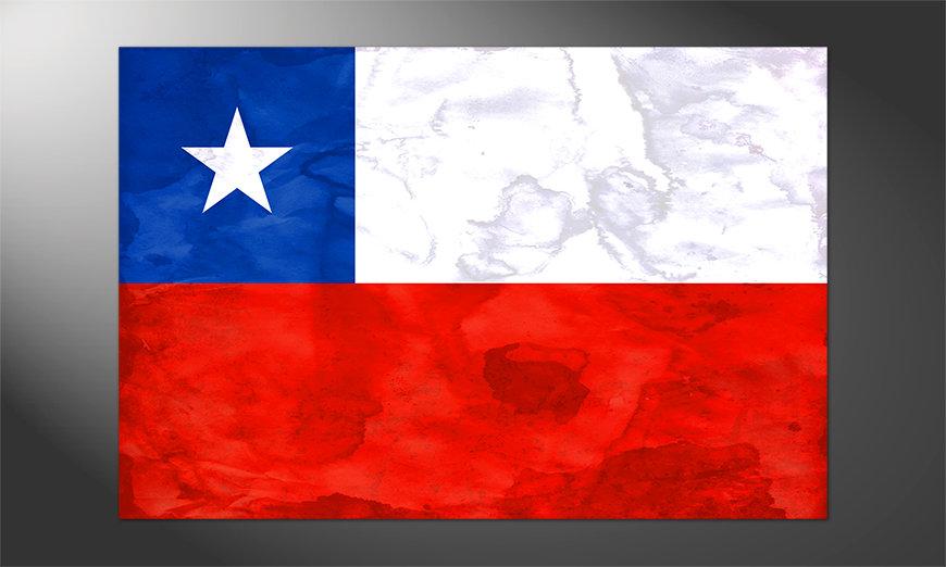 Das großartige Poster Chile