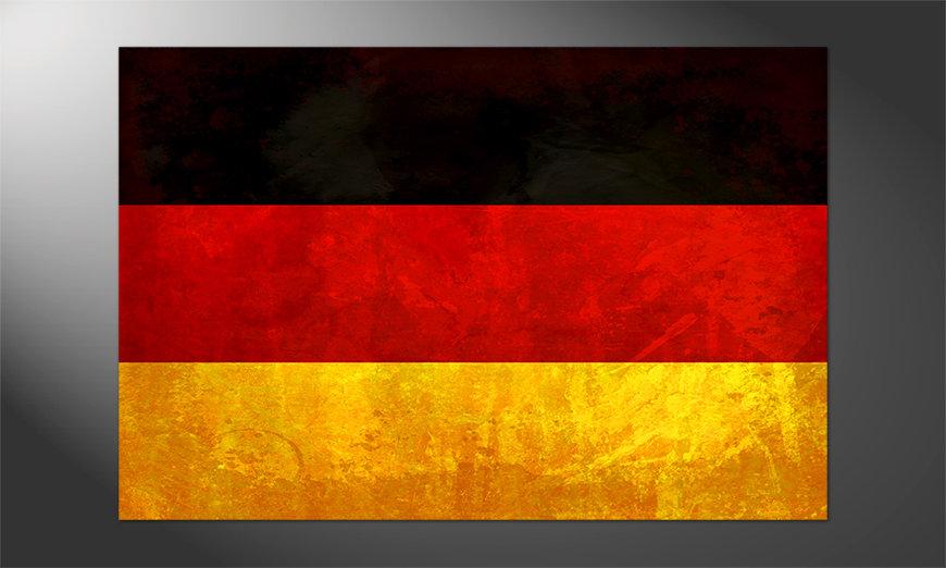 Das großartige Poster Deutschland