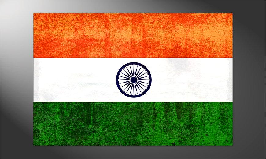 Das großartige Poster Indien