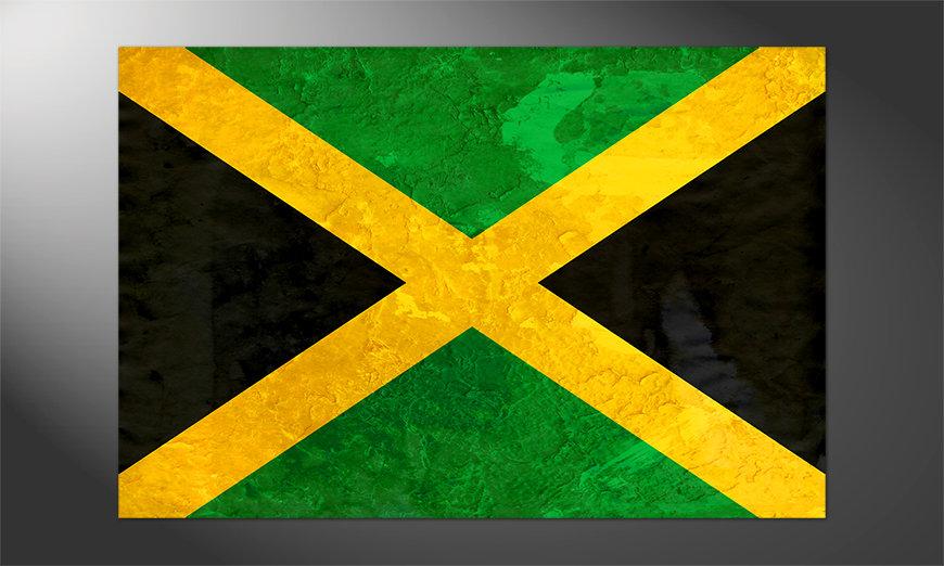 Das großartige Poster Jamaica