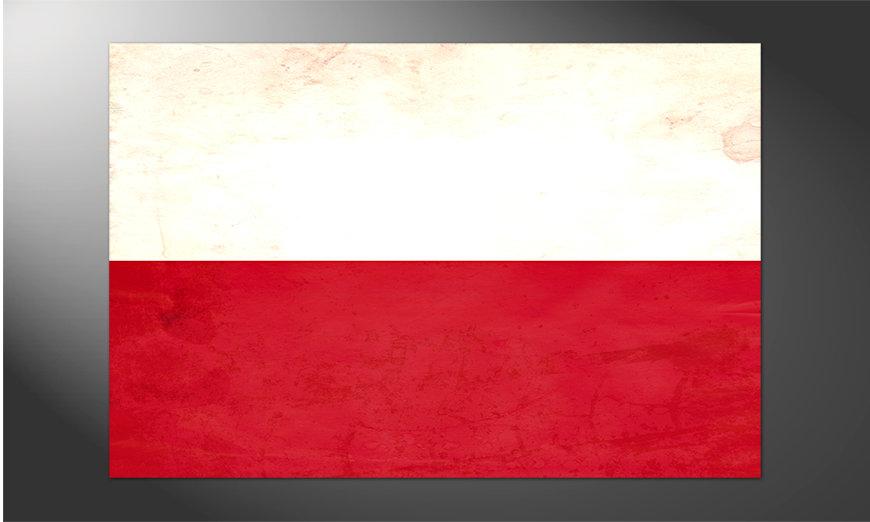 Das großartige Poster Polen