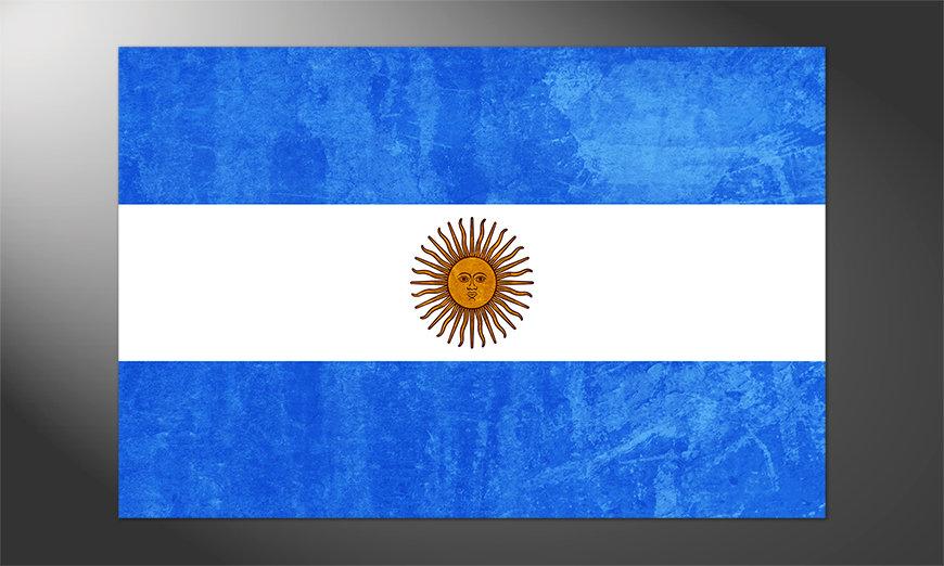 Das hochwertige Poster Argentinien