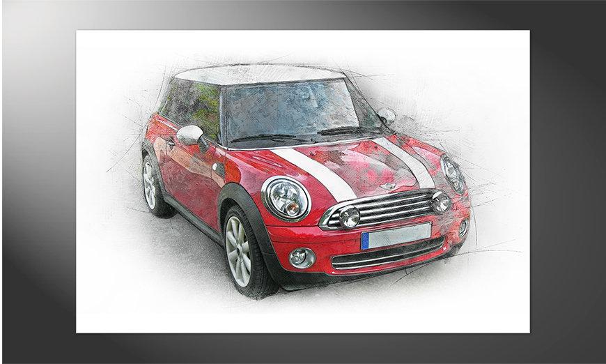 Das hochwertige Poster Great Mini